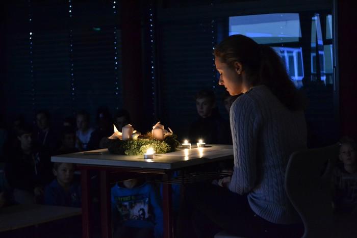 Realschule im Rupertiwinkel - Stille im Advent!